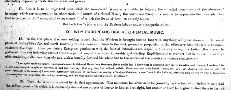 Why do Europeans dislike oriental music