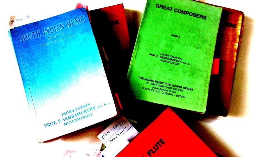 Professor Sambamurthy's books